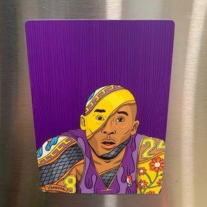 🏀💜💛 Kobe Sketch Fridge Magnet